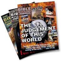 Bible MagazineSubscriptions,  Parcel of 10 copies.